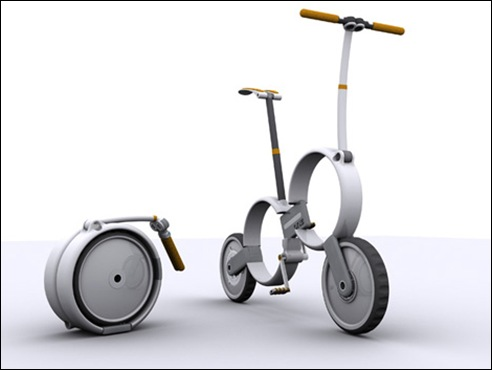 One - Folding Bicycle Concept 02