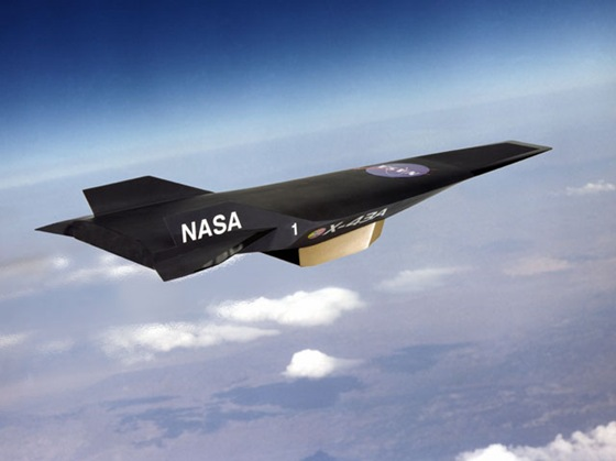 World's Fastest Aircrafts Boeing-NASA-X-43