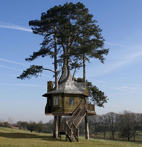 Amazing Tree Houses Around The World 01