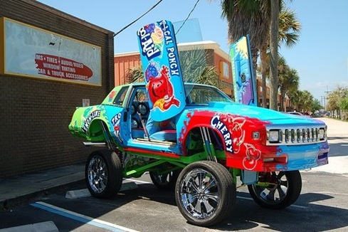 Kool-Aid Art Car