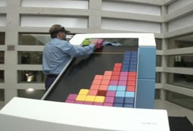 Analog Tetris Game 01