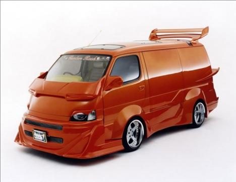 Strange Japanese Custom Vans 08