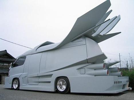 Strange Japanese Custom Vans 14