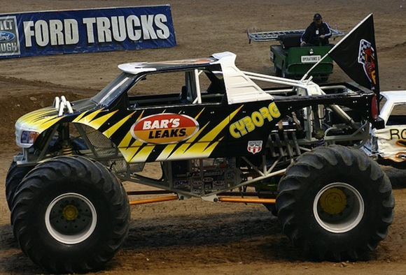 Cyborg Monster Truck
