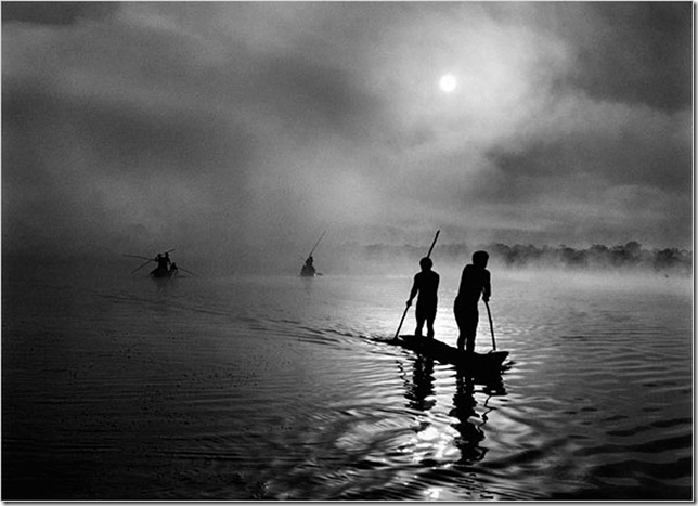 Sebastiao salgado-matto-grosso-pescadores
