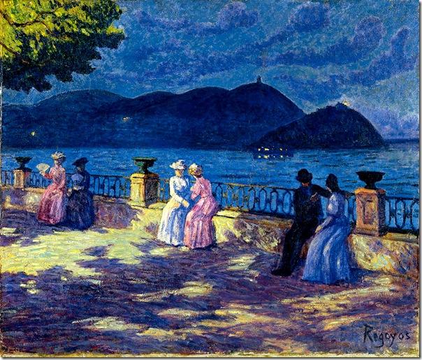Darío de Regoyos -La Concha  nocturno 1906