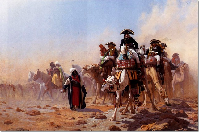 Jean-Leon Gerome - Napoleon-and-His-General-Staff