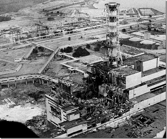 CHERNOBYL DISASTER 1986