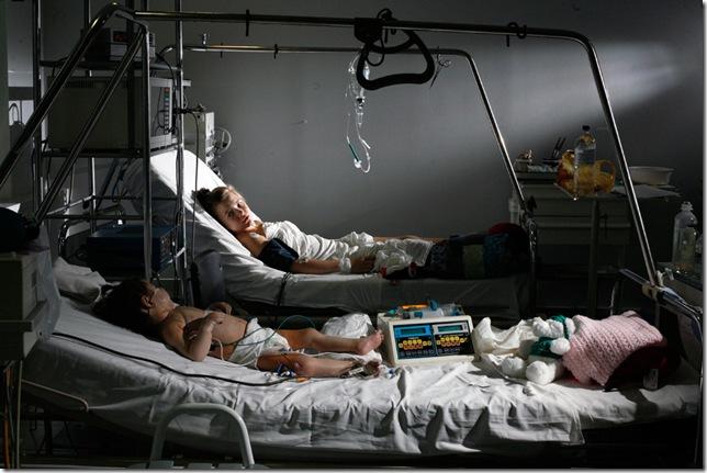 cada año, 6.000 niños en Ucrania nacen con enfermedad cardíaca genética. Se sospecha que la radiación es la causa, pero no está demostrado. (Rothbart Michael Forster)