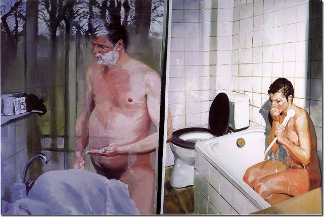 eric fischl -Krefeld Project Bathroom Scene 2, 2003.