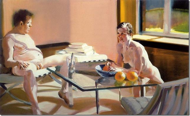 eric fischl -Krefeld Project Sun Room Scene 3, 2002.