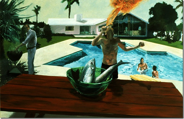 eric fischl -BARBECUE, 1982.
