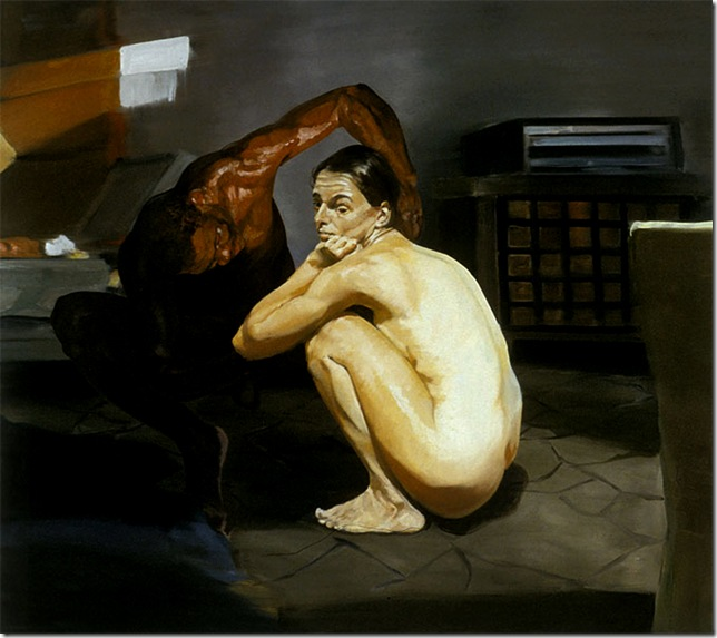 eric fischl -The Travel Of Romance, Scene I, 1994.