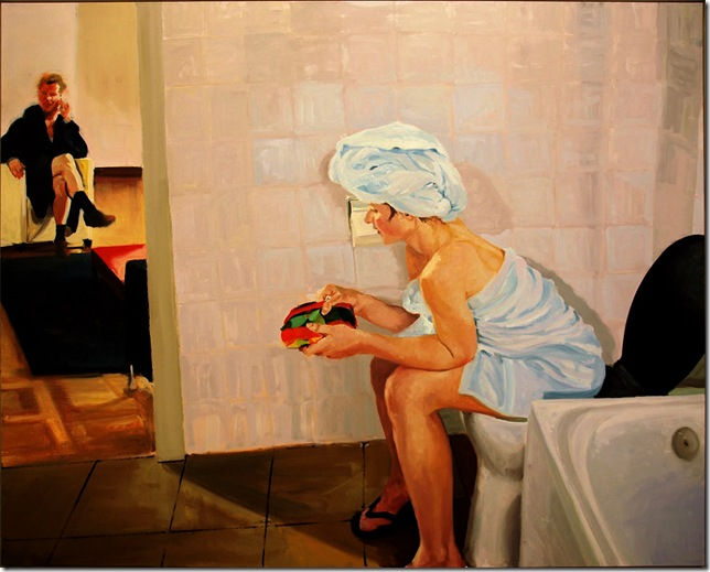 eric fischl -Bathroom.Scene 4 2005