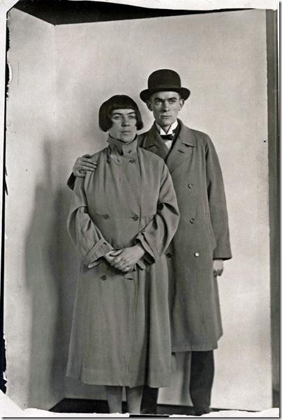 August Sander  - Anton Räderscheidt& Marta Hegemann 1925