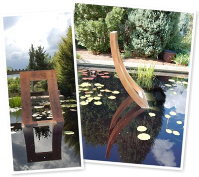 View Sculpture Reflection