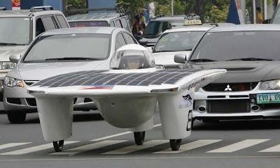 Solar Car power- Mobil tenaga matahari