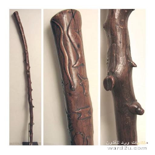 العكاز فن له تاريخ فى الصنعه والاستخدام