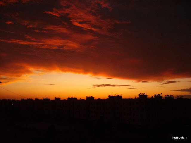 Coucher du soleil et Crépuscule urbains DSCF3945