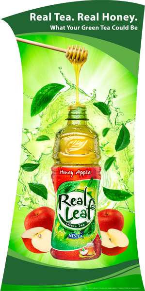 real leaf green tea