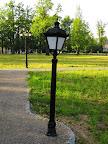 Vecgulbenes parkā ir šķībi stabi