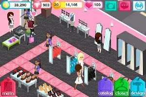 Screenshot of Fashion Story: Pool Party