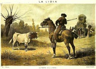 La Tienta (La lidia 17-08-1885)