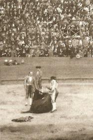 Mazzantini toreando México 1898 002