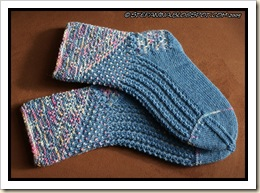 Miss Marple socks - finished