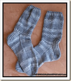 Granit Socks - finished