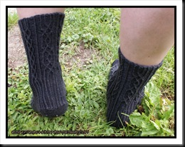 Florian socks - back
