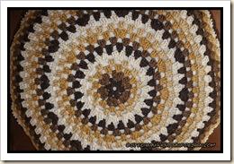 Granny Mandala boscaiolo cushion back