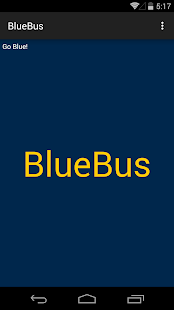 BlueBus - screenshot