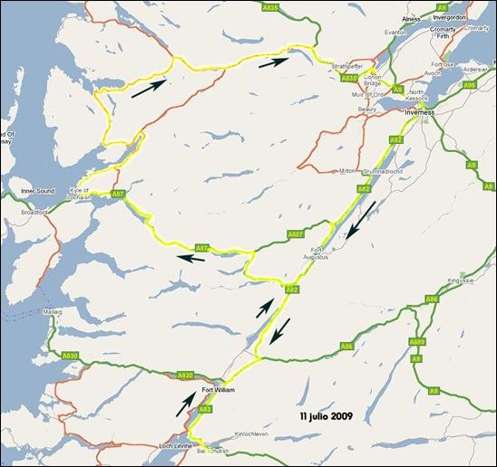 06 Glencoe - Kyle of Lochalsh - Inverness