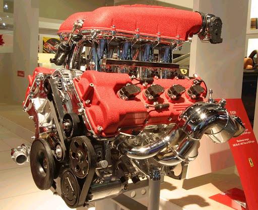 Motor+V8+Ferrari+(430+Modena)