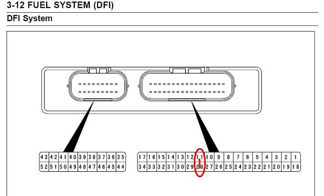 how to bypass vds to sensor for er6 kawiforums kawasaki the guys whom suggested placing the jumper cables on the terminals hasn t tried it only opinion based on the drawing