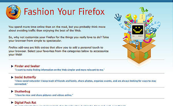 Fashion Your Firefox