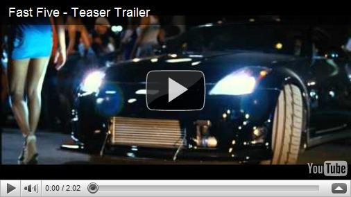 Primeiro trailer de Velozes e Furiosos 5