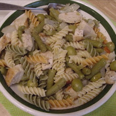 Solo Green Beans and Chicken With Pasta