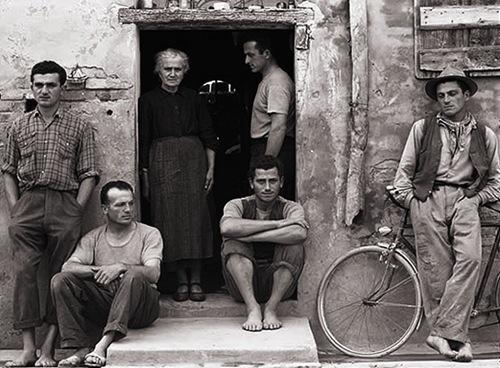 La familia Luzzara, por Paul Strand