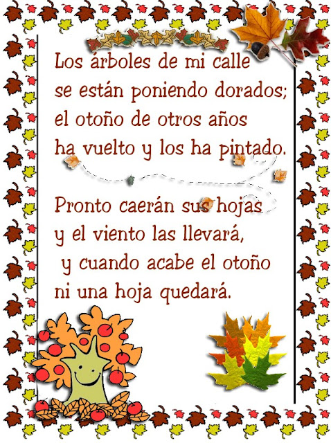 Poemas para niños  Los Arboles Oto%C3%B1o