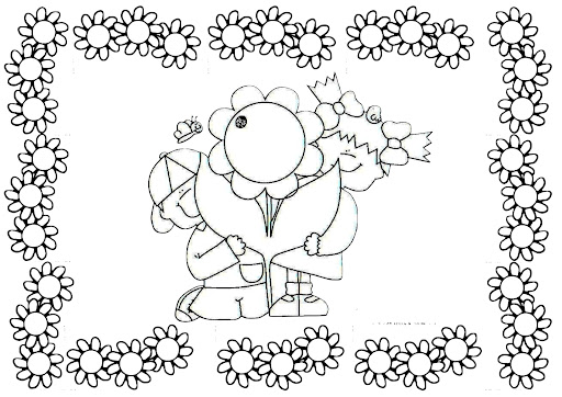 Dibujos infantiles sobre la primavera imagui - Dibujos de cenefas para pintar ...