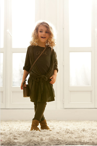 echo bella  fashion for little girls   chloe fall  winter collection 2010
