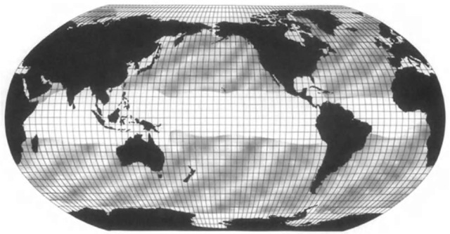 The distribution of the humpback whale (Megaptera novaeangliae) illustrates a common pattern that, for the most part, excludes tropical warm tvaters in summer (Arabian humpbacks are an exception). The humpback is especially well known as a migratory species, tending to feed and mate at higher latitudes but calving at lower latitudes.