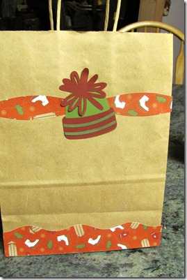 Christmas crafts and giftbags