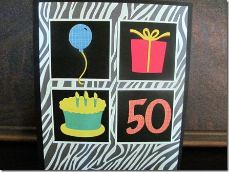 B-day cards for Wally's 50 and Sherry 2010