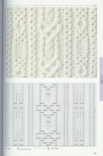 棒针花样(全书) - 阿明的手工坊 - 千针万线