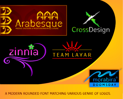 latin universal cultural rounded web 2.0 style web 3.0 fresh font logo design typography