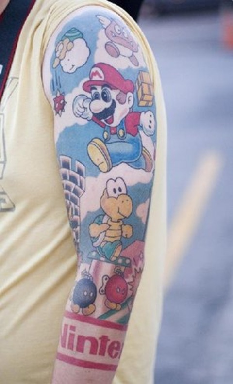 super-mario-tattoo