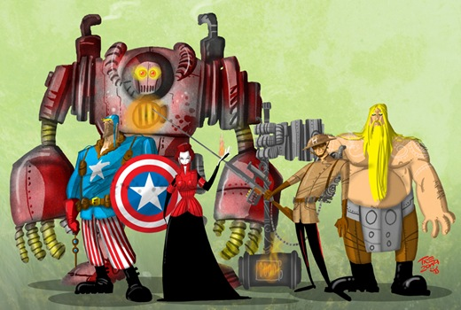 Steam_Punk_Avengers_by_themico
